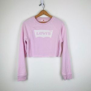 Levi's Cropped Logo Sweatshirt